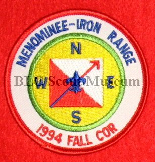 Menominee-Iron Range District - Hiwathaland Council