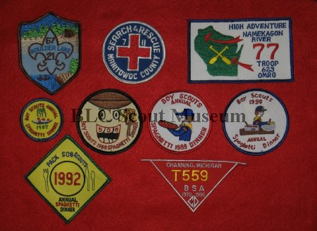 Troop Issued patches